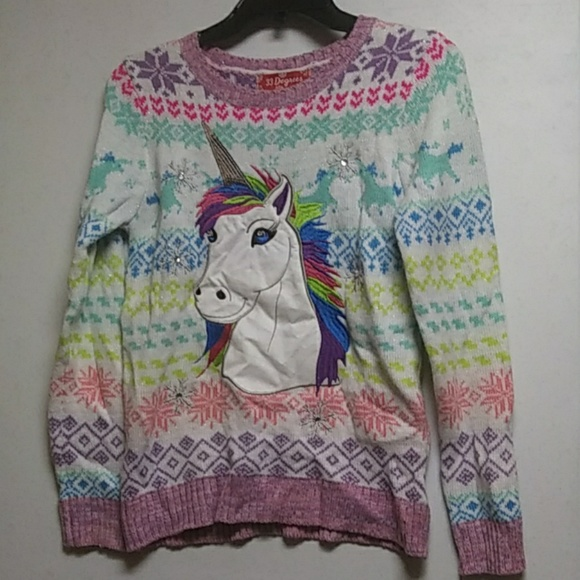 33 Degrees Other - Unicorn Sweater